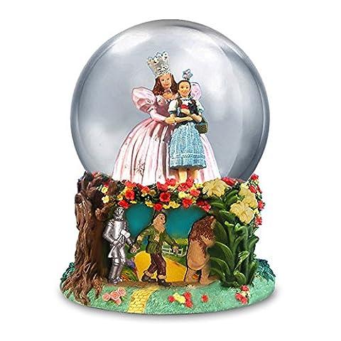 Der Zauberer von Oz Glinda und Dorothy Wasser Globe von San Francisco Musik Box