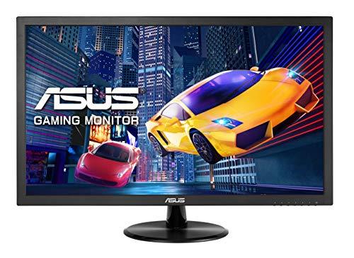 Asus VP248H 61 cm (24 Zoll) Gaming Monitor (Full HD, VGA, HDMI, 75Hz, 1ms Reaktionszeit, Adaptive-Sync) schwarz