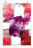 End Of Me - modernes abstraktes Bild Sinus Art - Bilder, Poster und Kunstdrucke