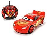 Dickie Toys- Voiture de Course RC Cars 3 Ultimate-Lightning McQueen avec télécommande Radio à 3 canaux, 203086005