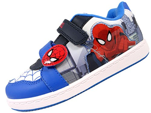 Spiderman Spidermanbeckett - Sandalias con Cuña Para Chico, Color Azul, Talla 27 EU Jovenetud