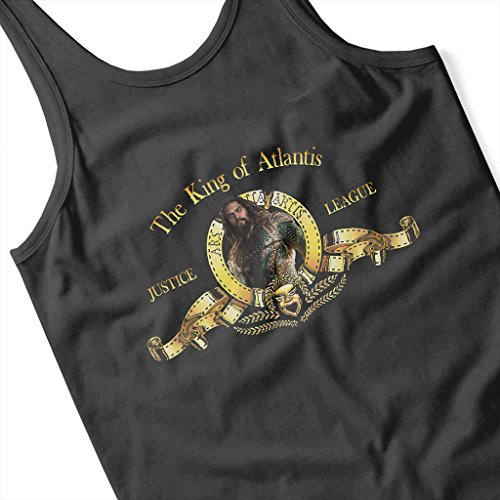 The King Of Atlantis Justice League Metro Goldwyn Mayer Lion Aquaman Women's Vest Black