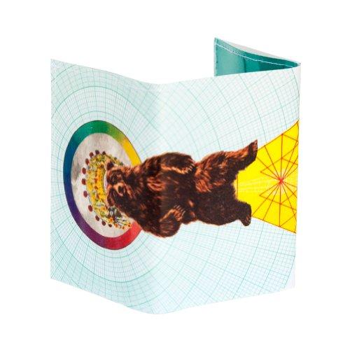 Zauberhafte Bär Trifold Wallet (Vinyl-tri-fold Wallet)