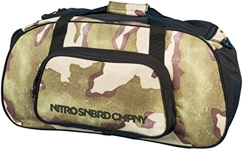 Nitro Snowboards Tasche Duffle Bag Sporttasche, Desert Camo, 60 x 30 x 30 cm