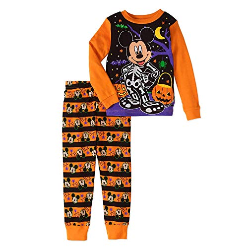Disney Mickey Mouse Little Boys Toddler Halloween Pajama ()