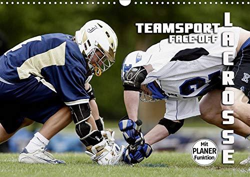 Teamsport Lacrosse - Face-off (Wandkalender 2020 DIN A3 quer): Packende Spielszenen aus der Welt des Lacrosse (Geburtstagskalender, 14 Seiten ) (CALVENDO Sport) (Crosse La Postkarte)