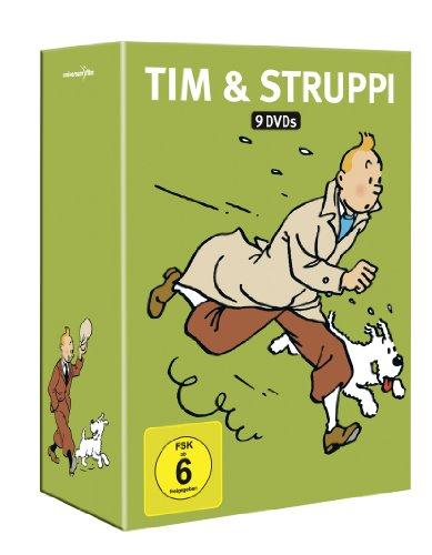 Tim & Struppi - Komplettbox [9 DVDs]