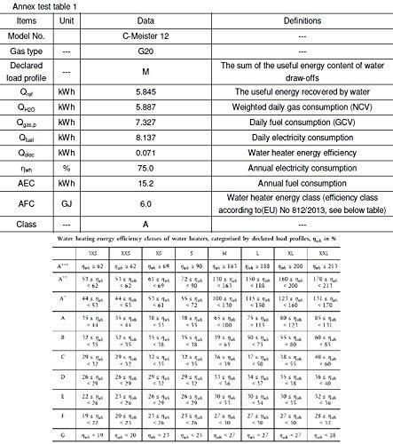 TTulpe C-Meister 12 P50 geschlossen Gas Durchlauferhitzer Propan-/Butangas