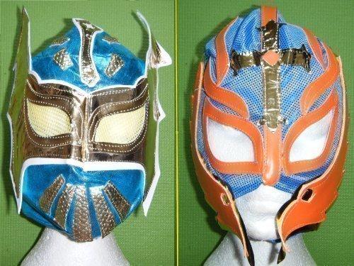 Farbe will variieren Rey Mysterio-Blau Sin Cara Kinder Mask (Cara Wrestler Sin)
