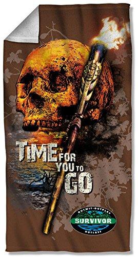 Survivor Adventure Reality Game Show TV Serie Time To Go Strandtuch (Tv-show Survivor)