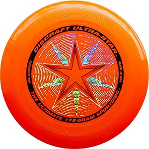 Ultimate Frisbee: Discraft Ultra Star / Orange