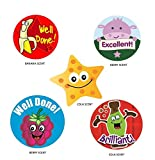 Sticker Solutions Scratch 'n' Sniff Reward Stickers (Pack of 125)