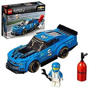 LEGO SpeedChampions AutodaCorsaChevroletCamaroZL1, Macchine da Corsa da Collezione, 75891  LEGO