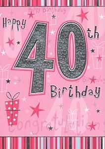 Bon 40e anniversaire