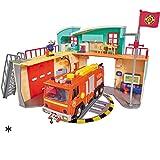 Feuerwehrmann Sam Neue Feuerwehrstation mit F...Vergleich