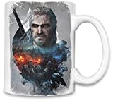 The Witcher 3 Rêve de Chasse Sauvage - The Witcher 3 Wild Hunt Dream Unique Coffee Mug | 11Oz Ceramic Cup| The Best Way to Surprise Everyone on Your Special Day| Custom Mugs by Style