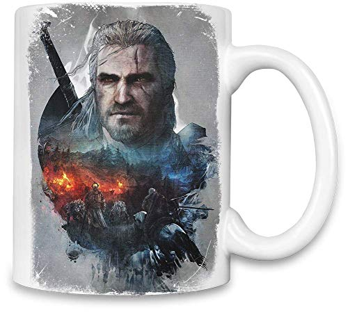 Style Matters The Witcher 3 Wilder Jagdtraum - The Witcher 3 Wild Hunt Dream Unique Coffee Mug   11Oz Ceramic Cup  The Best Way to Surprise Everyone On Your Special Day  Custom Mugs by