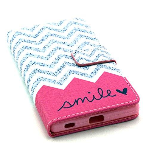 Voguecase® Pour Apple iPhone 6 Plus/6s Plus 5,5 Coque, Etui Housse Cuir Portefeuille Case Cover (my phone 03)de Gratuit stylet l'écran aléatoire universelle pink mile