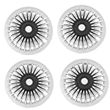 MIZZEO Car Wheel Cover Caps Silver & Black Rush-D 13 inches Press Type Fitting (Set of 4) for Maruti Esteem Amazon Rs. 1549.00