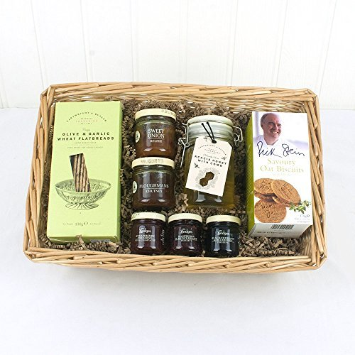 Deluxe Preserves & Nibbles Tray -Gift ideas for - Christmas, Fathers Day,Valentines,Mothers Day,Presents,Birthday,Men,Him,Dad,Her,Mum,Thank you,Wedding Anniversary,Engagement,18th,21st,30th,40th,50th,60th,70th,80th,90th