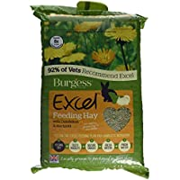 Excel Burgess Feeding Hay with Dandelion and Marigold 1kg (Pack of 3)
