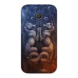 Guardians Of Hell Back Case Cover for Moto E