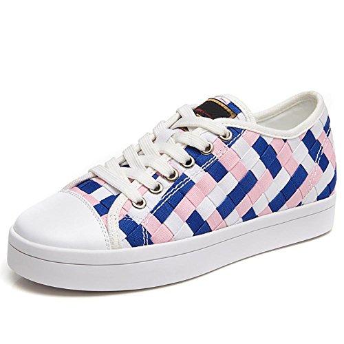 SONGYUNYANExtérieure occasionnels Collège vent tiss?semelle en caoutchouc toile féminines chaussures Baskets Mode 1