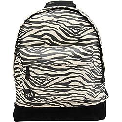 Mi-Pac Premium Print Backpack Mochila Tipo Casual, 41 cm, 17 litros, Zebra Blk/Wht