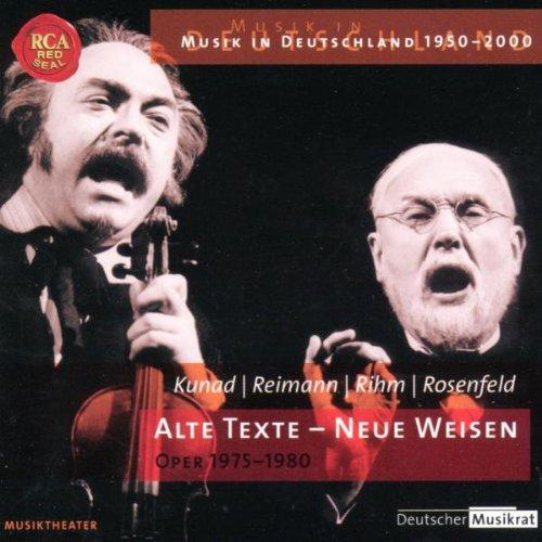 Oper, Operette, Musical - Alte Texte - Neue Weisen - Alter Mantel