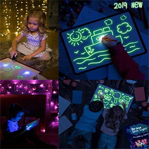 A3 Pizarra Luminosa Pizarras mágicas niños Tablero