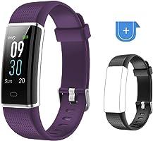 Willful Fitness Armband mit Pulsmesser,Wasserdicht IP68 Fitness Tracker Farbbildschirm Fitness Uhr Aktivitätstracker...