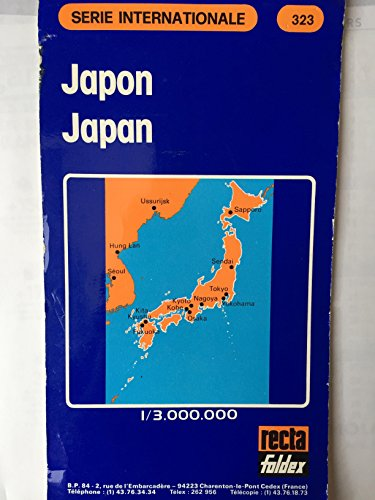 Japon Japan serie internationale n 323 carte au 1/1,500.000