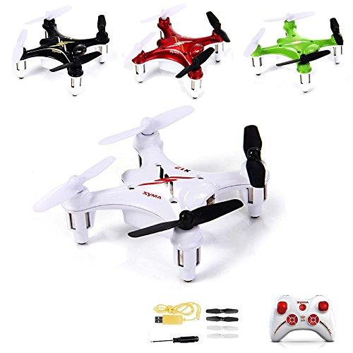 Preisvergleich Produktbild 4-Kanal 2.4GHz RC ferngesteuerter mini Nano Quadcopter Pro, Drohne mit 6-axis Gyro, 3D Loopings, Komplett-Set inkl. Ersatzteil-Set