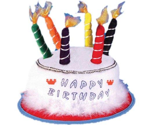Alles Gute zum Geburtstag Hut mit Kerzen