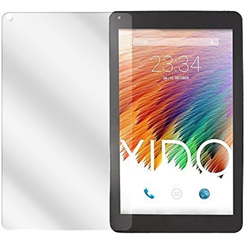 dipos I 2X Schutzfolie klar passend für XIDO Tablet X111 Folie Bildschirmschutzfolie