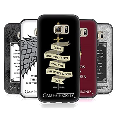 Head Case Designs Official HBO Game Of Thrones Graphics Skinny Fit Hybrid Iced Case for Huawei Samsung Phones