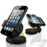 Universal UniSuction 360 In-Car Windscreen Suction Holder Mount for Apple iPhone 3 3G 3GS, iPhone 4 4S, iPhone 5, iPod Touch 2 3 4, Blackberry 9360 Curve, 9380 Bold, 9900 Bold Touch, 9790, HTC Wildfire S, Sensation XE XL, Desire C, Desire S, Desire X, Samsung i9100 Galaxy S2, i9300 Galaxy S3, S5830 Galaxy Ace, S7500 Galaxy Ace Plus, I8160 Galaxy Ace 2 II, Sony Ericsson Xperia S LT26i, Xperia Arc X12, Xperia Tipo, Xperia U, Xperia T, Huawei Ascend G300