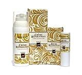 Bio Kosmetik (Ecocert): Kloster Bio Gesichtscreme + Lippenbalsam, 2-teiliges Pflegeset, trockene, reife, empfindliche Haut