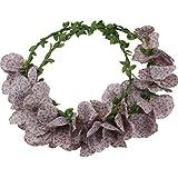 anillo de banda de pelo tocado de novia originales joyas hechas a mano los modelos de simulación balneario del pelo corona