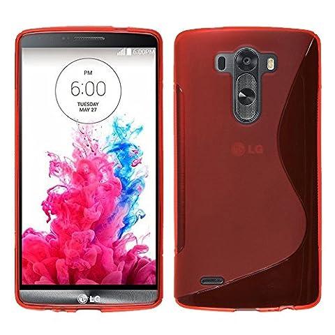 LG G3SchutzHülle HCN Phone® Line TPU Gel Silikon weiche Schutzhülle für LG G3