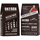 On The Run Hazelnut Magic Energy Bars (Pack Of 6)
