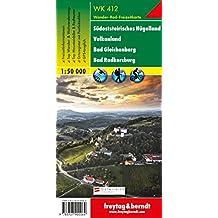 Freytag Berndt Wanderkarten. Südsteirisches Hügelland-Vulkanland-Bad Gleichenberg-Bad Radkersburg. 1:50 000.