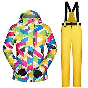 Zjsjacket Skianzug Winter Outdoor Sport Snowboard Jacke Skianzug Frauen Wasserdicht 10000mm Weibliche Skijacke Hosen Frauen Schneehose