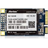 Zheino Q2 mSATA SSD 64 GB Con 128M Caché (30 * 50 mm) 2D MLC (Not TLC Not 3D NAND) Interno mSATA Memoria mSATA Disco Duro Unidad de Estado Sólido Para Mini PC Tablet PC