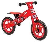 Best Balance Bikes - Nicko Racing Cars Kids Children's Wooden Balance Bike Review