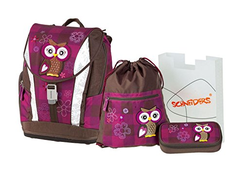 Schneiders Vienna  Soft Schulranzenset Olivia The Owl