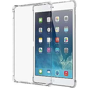 iPad Pro Étui, luvvitt® Grip Transparent Flexible souple en TPU Transparent Coque arrière en caoutchouc pour iPad Pro 12.9(2015) Technologie Air Gap antichoc–Transparent