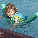 Aiuto in gommapiuma per tubo, nuoto lungo galleggiante aiuto spessa schiuma tubo anello, per adulti e bambini Solid Core