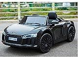 Toyas Audi R8 Spyder Kinder Auto Kinder Elektroauto Akku Kinderfahrzeug 12V