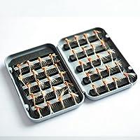 TOPIND - Cebo artificial para pesca con mosca (40 piezas), 05-Flyfishinglures